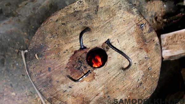 печка из деревянной чурки