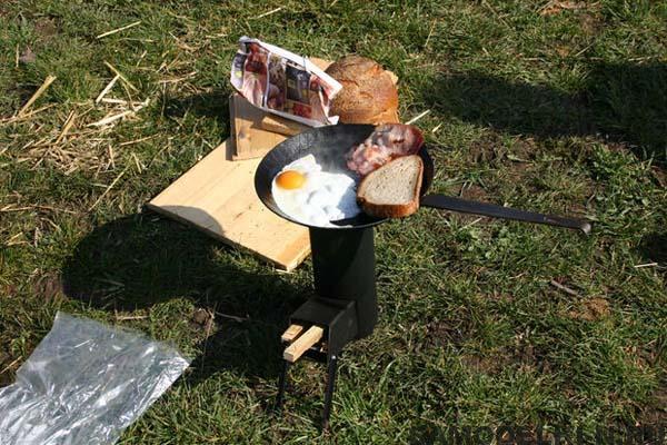 походная печь
