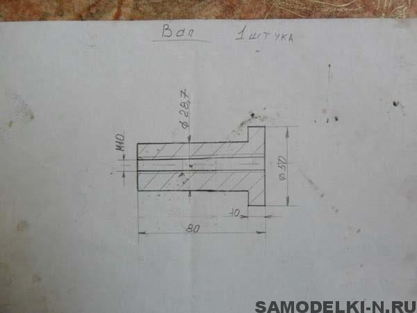 Трубогиб для профильной трубы чертежи