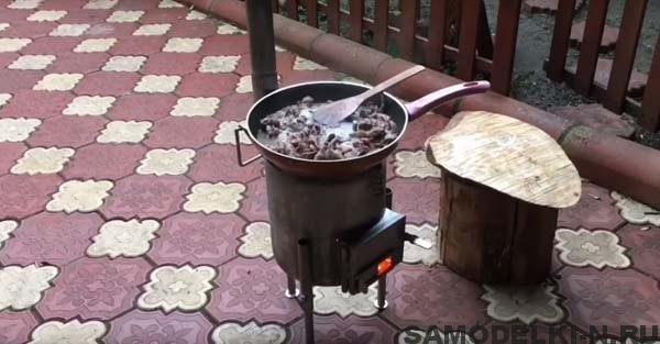 уличная печь