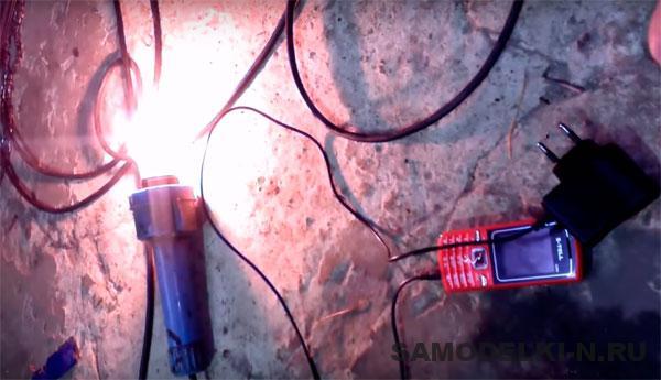 самодельный генератор 220