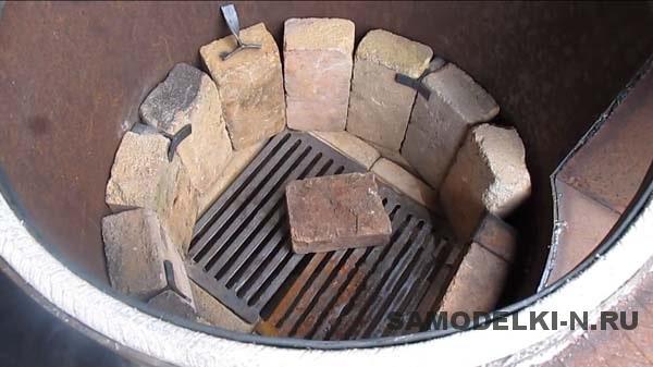 печь самодельная