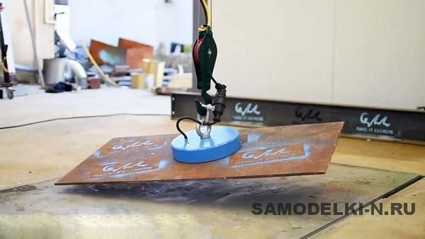 как сделать электромагнит из трансформатора микроволновки