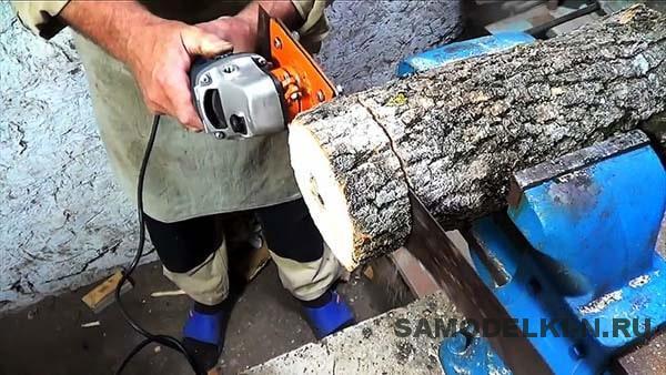 Электроножовка своими руками из болгарки